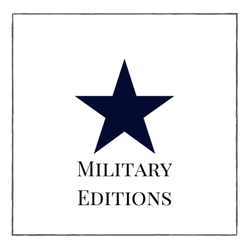 Book club kits with military editions