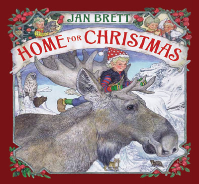 Learn why you want to read Jan Brett's books this winter, at BusyNestNews.com