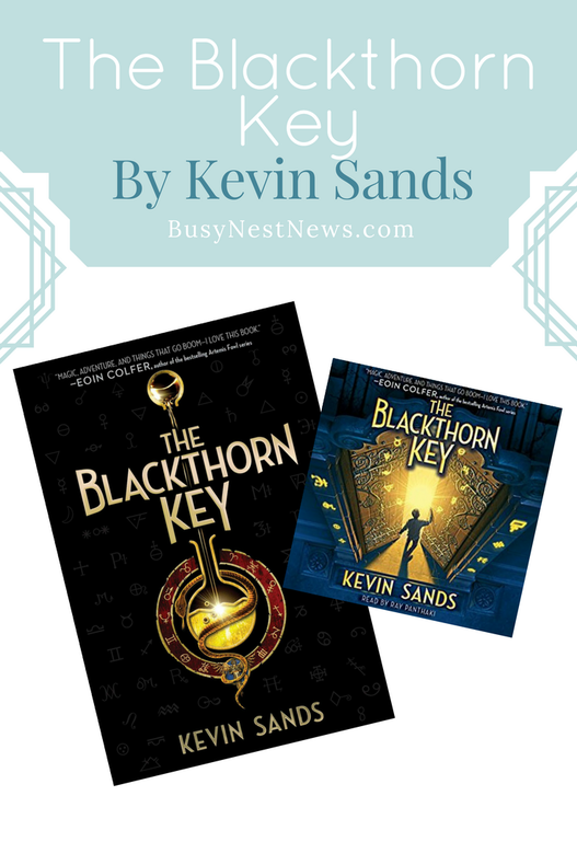 Read a review of The Blackthorn Key on BusyNestNews.com