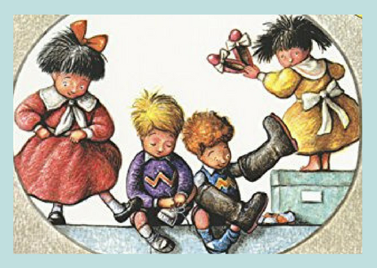 Four adorable learn about shoes. See our thoughts on this book at BusyNestNews.com