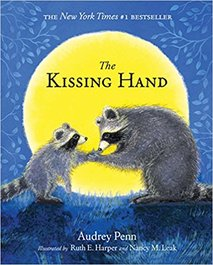 The Kissing Hand by Audrey Penn featured on BusyNestNews.com