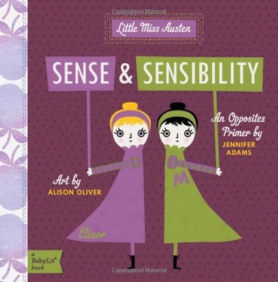 Sense and Sensibility: An Opposites Primer featured on Busy Nest News