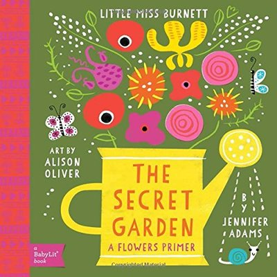 The Secret Garden: A Flowers Primer featured on Busy Nest News