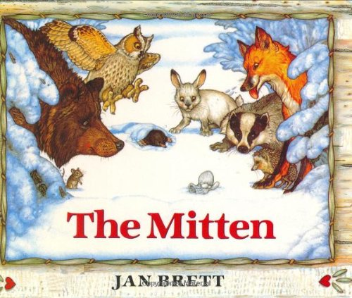 The Mitten and other books by Jan Brett
